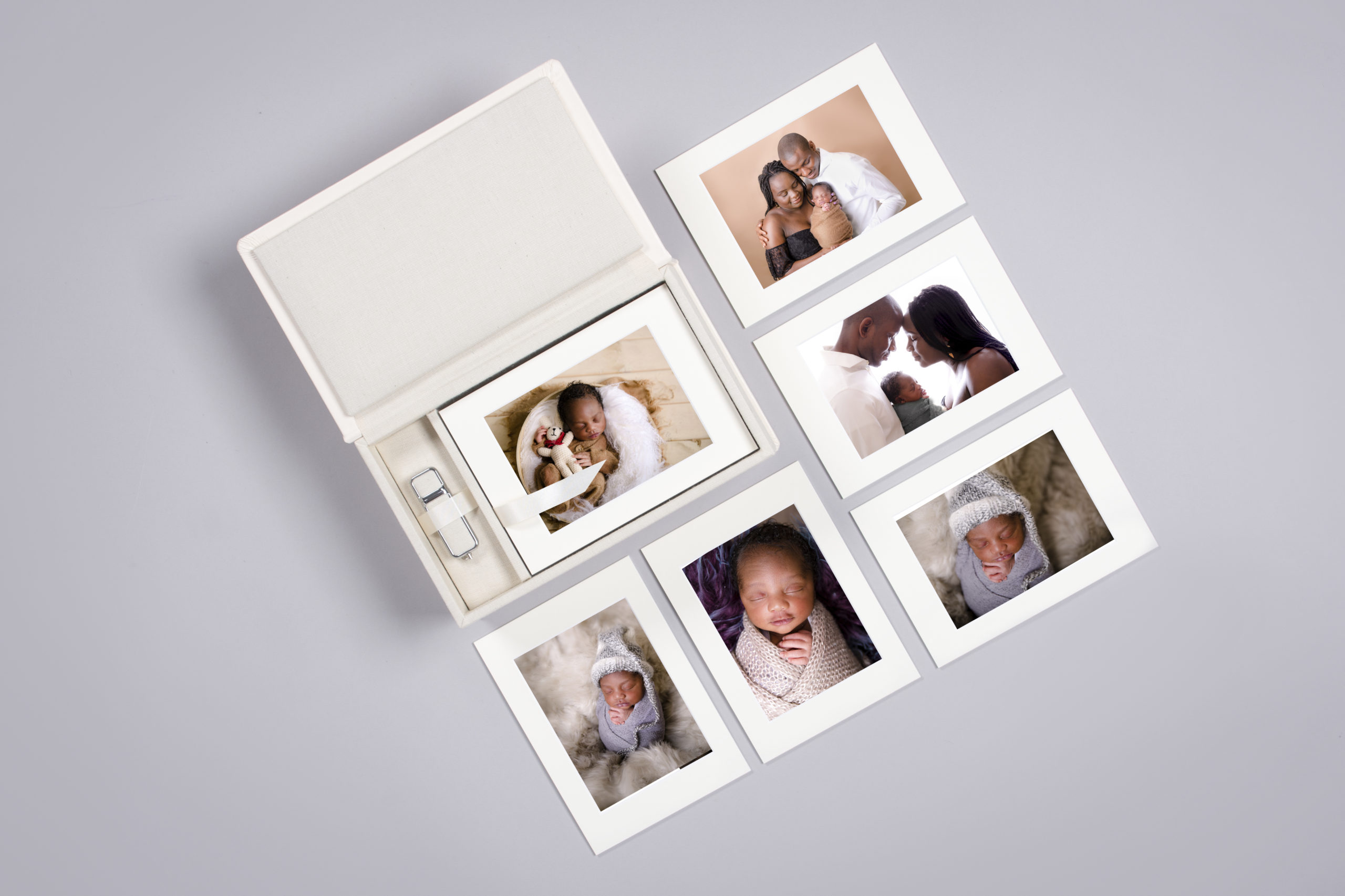 Handmade Folio Memory Box Luxury Printing Products art Prints family portrait child portrait print professional quality prints folio box storage ideas handmade matted paper prints in a photography Studio in Wimbledon South West London