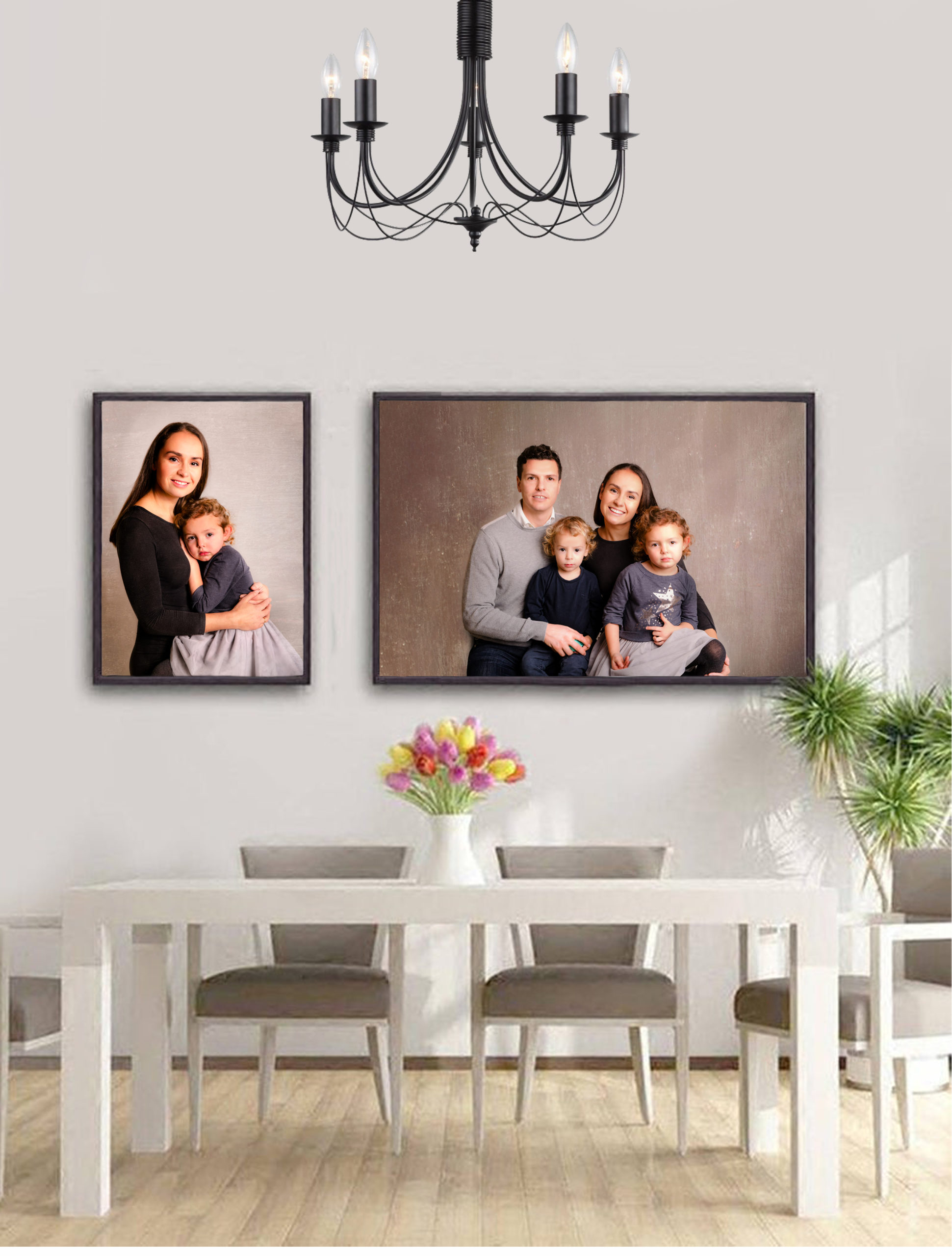 Family Photo Session wall art canvas professional prihow to print your photos Family Photo Studio London SW19