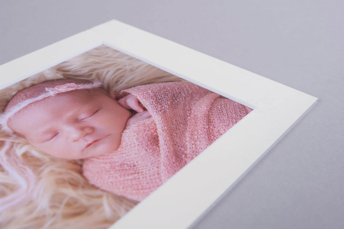 newborn photo fine art print professional printing products Studio newborn photography SW19