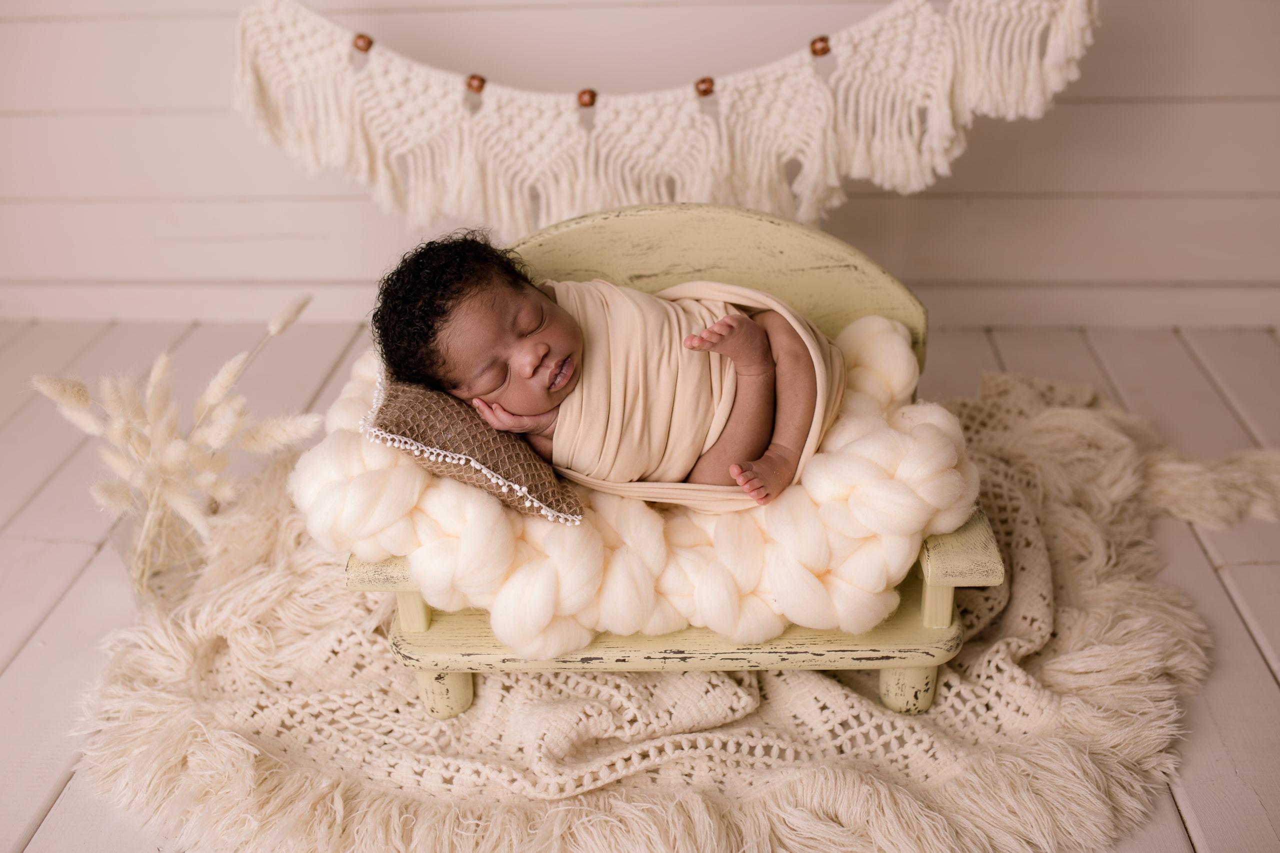 baby photoshoot newborn photo studio near Kington South West London